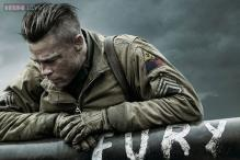 'Fury' first look: Brad Pitt looks pensive as US army sergeant in this World War II film