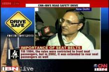Maruti Driving Institute's Training director on importance of seatbelt