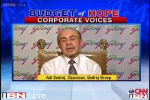 Budget 2014: Increase demand and accelerate GDP growth, says Godrej