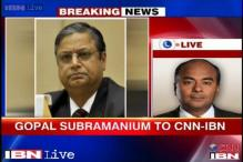 Gopal Subramanium withdraws candidature for appointment as SC judge