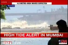 Mumbai witnesses high tide, waves expected to be 4.6 metres high