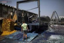 Rockets fired from Gaza hit Israel