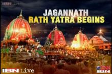 137th rath yatra begins in Ahmedabad amidst tight security