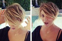 Snapshot: 'The Big Bang Theory' star Kaley Cuoco gets a dramatic pixie haircut