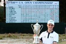 Martin Kaymer romps to eight-shot win at US Open