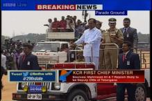 Live: CM KC Rao joins 'Telangana Formation Day' celebrations