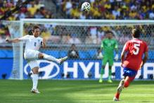 World Cup 2014: Costa Rica top Group D after 0-0 draw with England