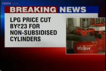 Price of non-subsidised LPG cylinders cut by Rs 23.50