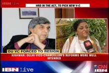 Delhi University VC Dinesh Singh hasn't resigned, claims Madhu Kishwar