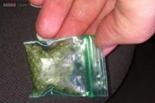 A woman in Maryland got something extra with her French fries - a bag of marijuana!