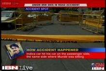 Gopinath Munde's accident: Accused driver was speeding, say police