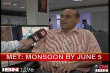 Monsoon expected to hit Kerala in 3-4 days: MeT Department