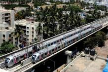 CM inaugurates Mumbai Metro; Ambani, Mahajan among early riders
