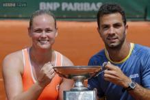 Rojer, Groenefeld win French Open mixed doubles title