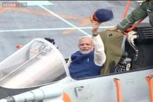 Modi dedicates India's largest warship INS Vikramaditya to the nation
