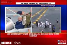 Exclusive: CNN-IBN on board INS Vikramaditya