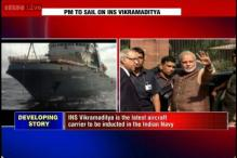 Modi to launch India's largest warship INS Vikramaditya in Goa today