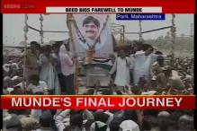 Union Minister Gopinath Munde cremated at his native village