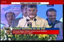 N Chandrababu Naidu takes oath as Chief Minister of Andhra Pradesh