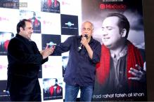 Mahesh Bhatt unveils Rahat Fateh Ali Khan's new album 'Back 2 Love'