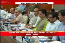 Home Minister Rajnath Singh meets bureaucrats of Naxal-affected states
