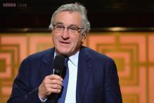 Robert De Niro stopped filming for World cup