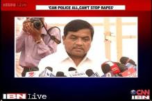 Patil retracts his statement on rape, says women safety top priority
