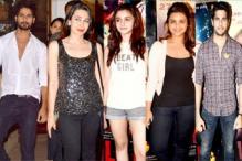 Alia Bhatt, Parineeti Chopra, Shahid Kapoor, Varun Dhawan make 'Ek Villain' screening a starry affair