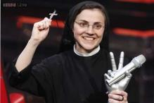 Suor Cristina, Italy's singing nun, wins the TV talent show 'The Voice of Italy'