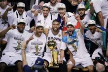 Spurs beat Heat 104-87 in Game 5 to win NBA title