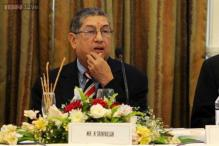 SC denies urgent hearing on plea restraining Srinivasan from contesting for ICC chief post