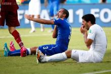 World Cup 2014: Luis Suarez bites again, could be in trouble