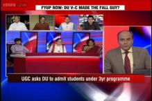 Is Dinesh Singh the real fall guy in DU FYUP row?