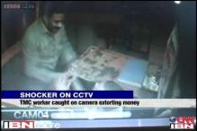 WB: TMC worker caught on camera beating, extorting money from a hotel manager in Howrah