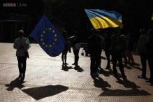 Military plane shot down in east Ukraine