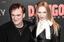 Uma Thurman, Quentin Tarantino fuel romance rumours as they are caught kissing on a dinner date