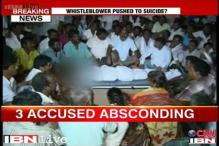 Karnataka whistleblower suicide: Three accused absconding, anger in the village