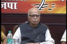 Advani all praise for Modi at BJP's Surajkund workshop