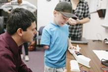 Students make a $350 prosthetic arm for a 6-year-old boy using 3D printing after doctors said surgery could cost up to $40,000!