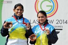 Teenager Malaika Goel, police inspector Lajja Gauswami, and engineer Ayonika Paul: meet the medal-winning Indian shooters from Commonwealth Games 2014