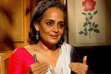 Azad seeks action against Arundhati Roy for anti-Gandhi comment