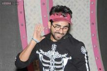Snapshot: Spooky style? Ayushmann Khurrana grabs everyone's attention as he rehearses for awards function wearing a skeleton print hoodie