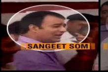 Riot-accused BJP MLA Sangeet Som detained near Moradabad