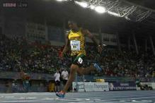 Yohan Blake's injury woes continue as he pulls up in Glasgow