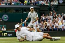 Sock, Pospisil beat Bryan brothers in Wimbledon final