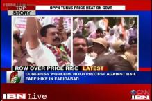 Congress takes its protests against price rise to the streets
