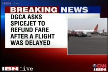DGCA raps SpiceJet after a flight delay, asks to refund fare