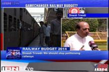 Railways needs to be depoliticised: Dinesh Trivedi