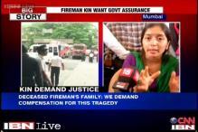 Mumbai: Wait ends, fireman's family gets assurance for job, compensation