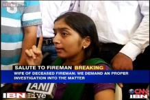 Mumbai: Won't take his body till government assures compensation, says fireman's wife